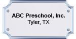 abc preschool plaque 4